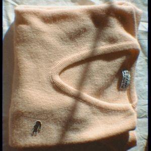 Yellow Vintage izod lacoste sweater